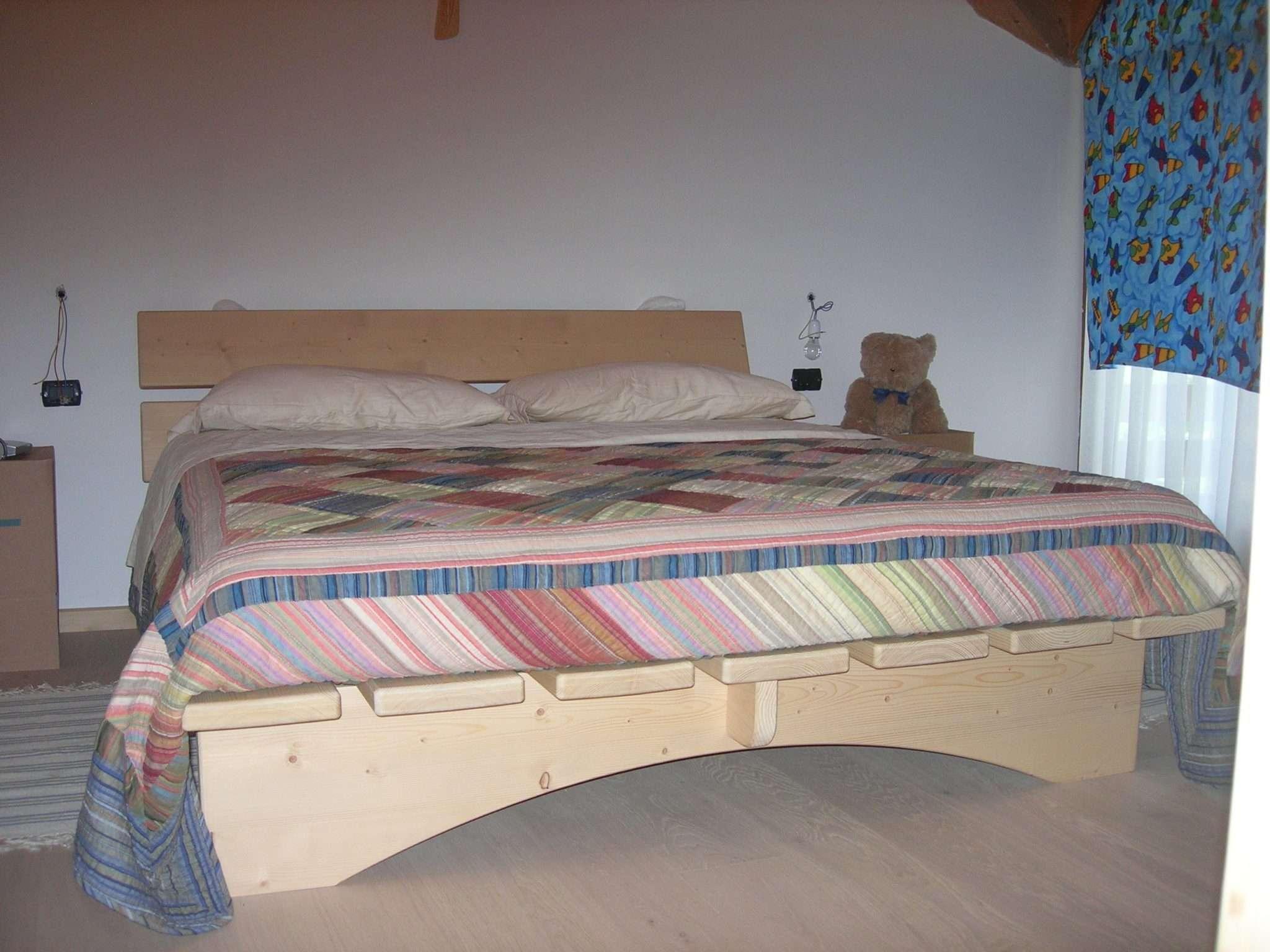 Camere da letto in legno case in legno e falegnameria in trentino - Camere da letto in legno naturale ...