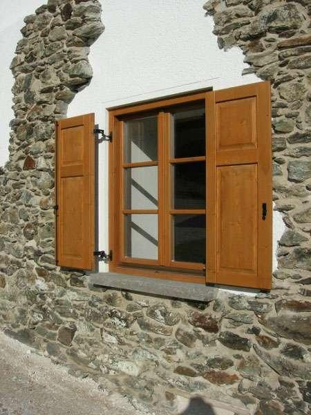 Finestre e scuri in legno case in legno e falegnameria in trentino - Finestre in legno ...